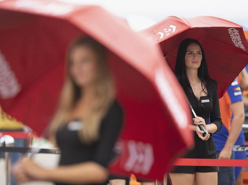 Yang Berbeda di MotoGP saat Pandemi, Tak Ada Penampakan Umbrella Girl