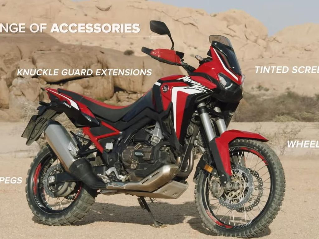 Penampakan Honda Africa Twin 2020, Kapasitas Mesin Naik!