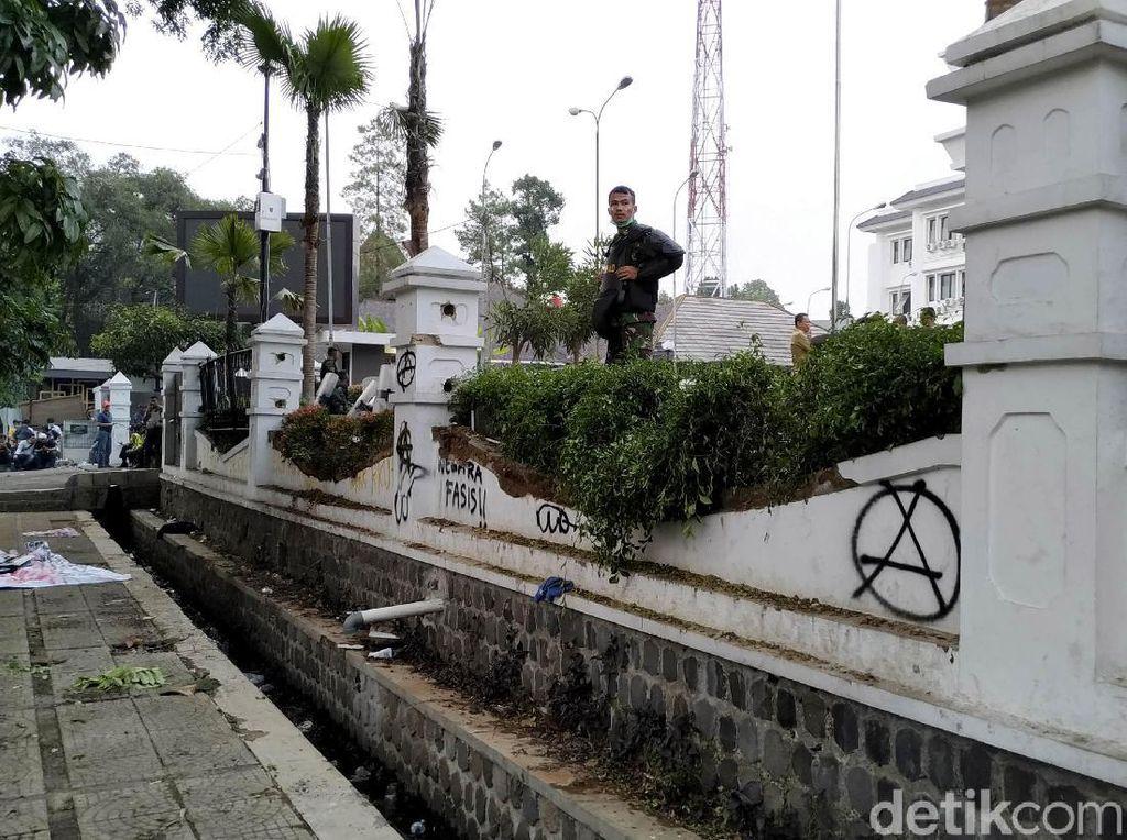 Perusakan dan Ricuh Demo di Bandung Terjadi Setelah Mahasiswa Pulang