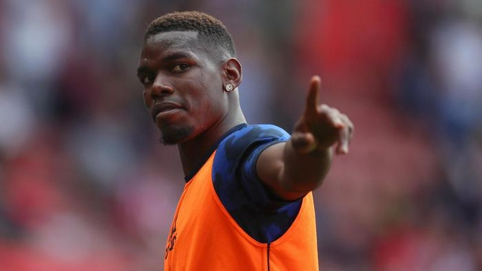 Gelandang Manchester United Paul Pogba. (Foto: Catherine Ivill / Getty Images)