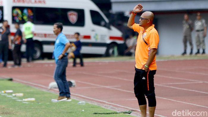 Persija Jakarta fokus menghadapi Semen Padang. (Foto: Rachman Haryanto/detikSport)