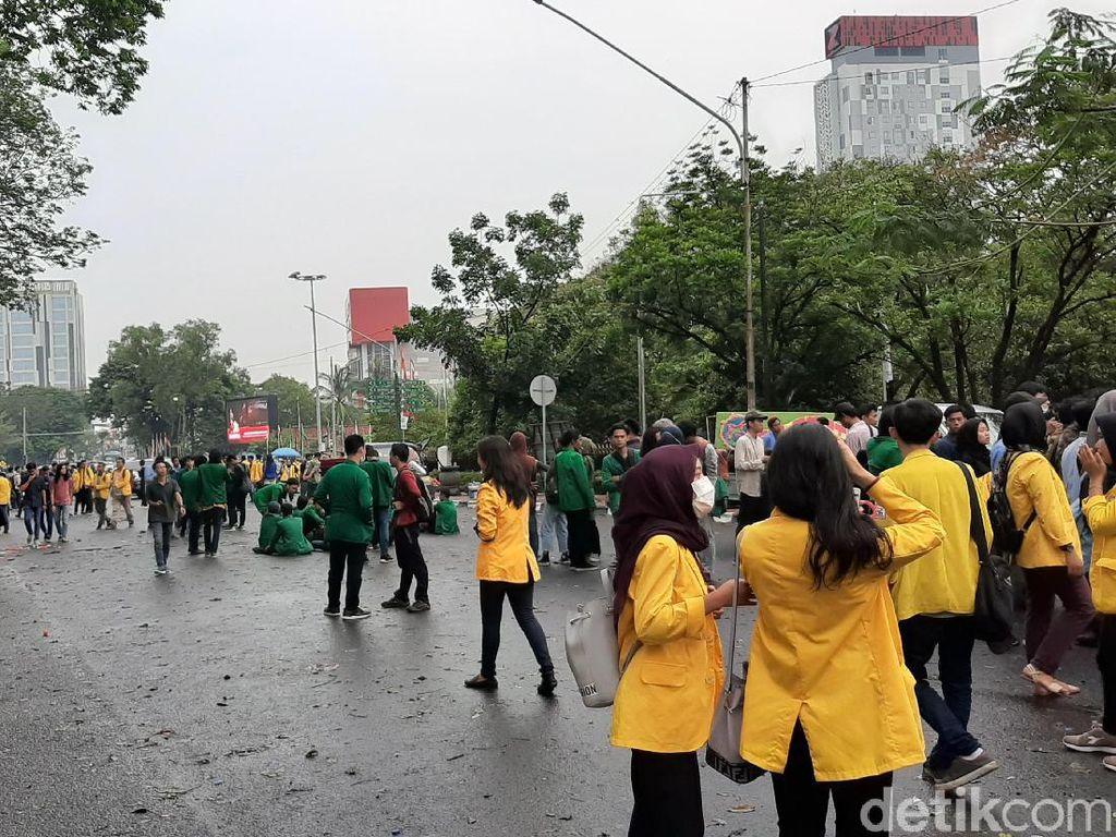 Ditemui Ketua DPRD Sumsel, Mahasiswa Akhiri Demonstrasi
