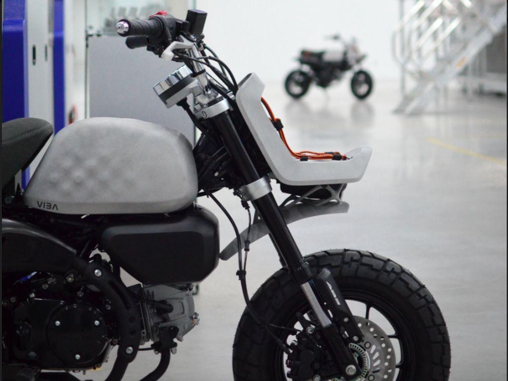 Unik, Honda Monkey Ini Dibuat dari Mesin Print
