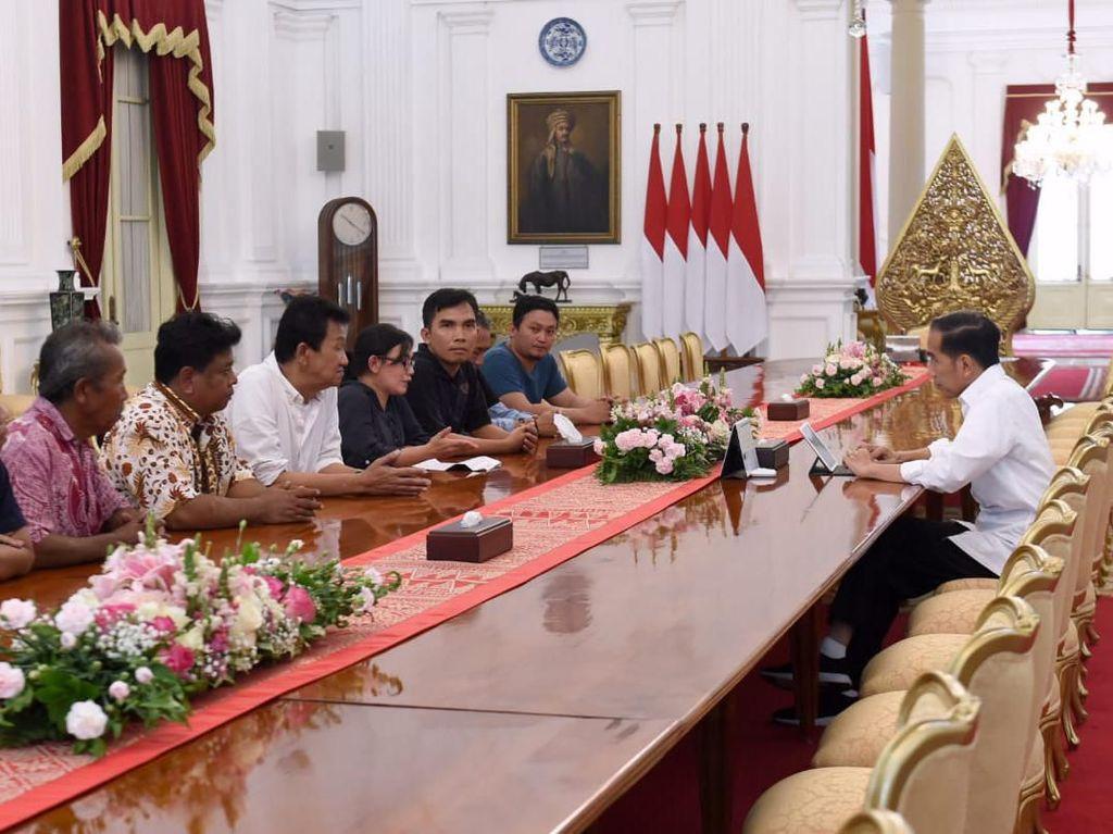 Mahasiswa Demo di Jakarta hingga Malam, Ini Agenda Jokowi Seharian