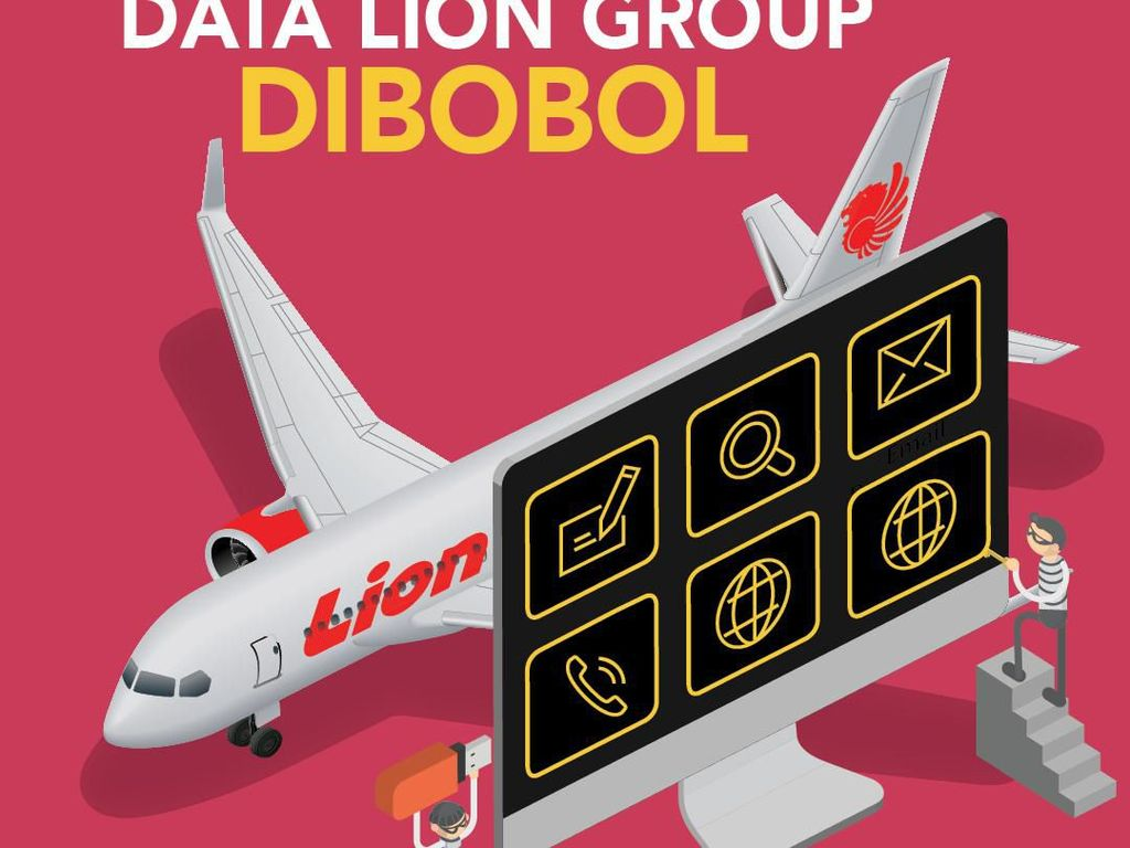 Data Penumpang Lion Air Dibobol