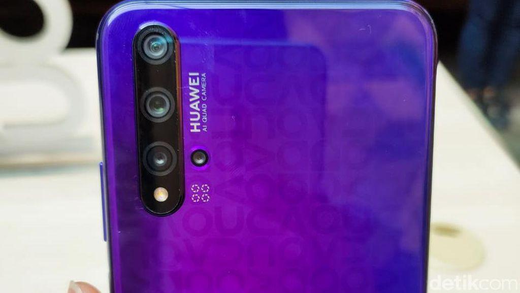 Cantiknya Huawei 5T, Kameranya Juga Mantap