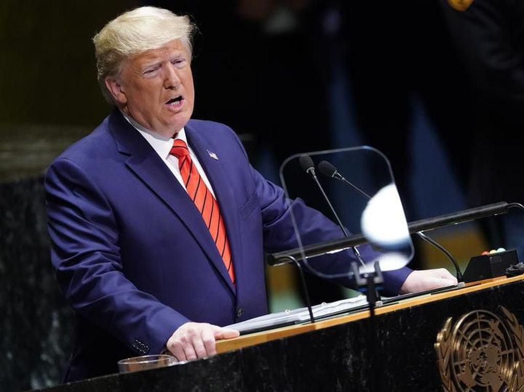 Trump hingga Macron Pidato di Hari Pertama General Debate Sidang Umum PBB