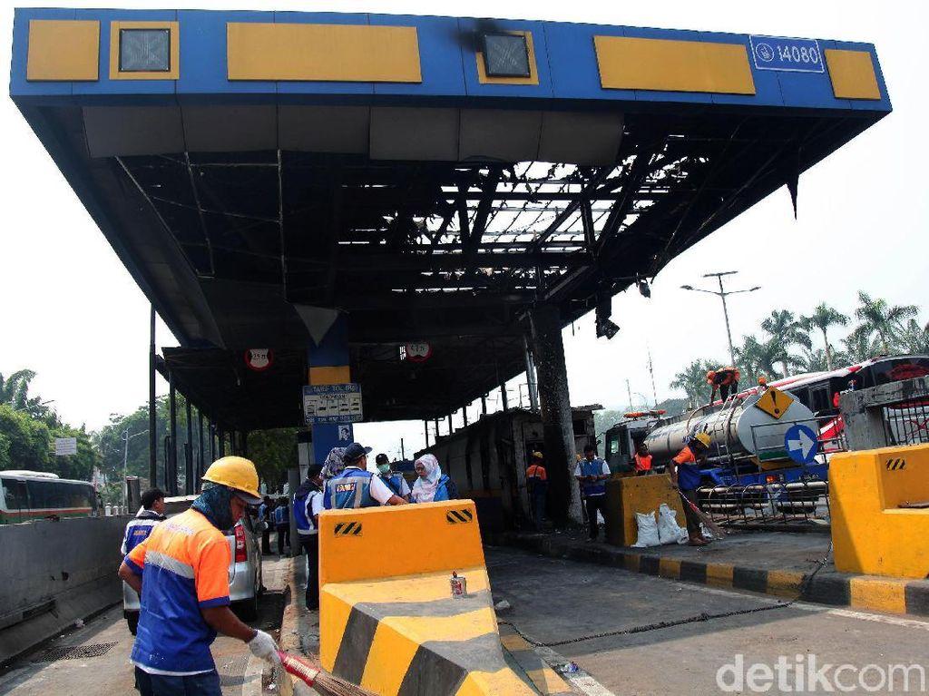 Jasa Marga Rugi Miliaran Rupiah Imbas Kerusakan Pasca Demo