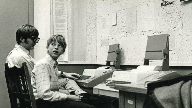 Bill Gates saat muda