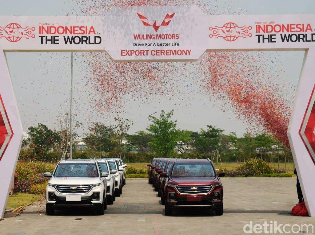 Mobil Wuling Made In Cikarang Diekspor ke 3 Negara