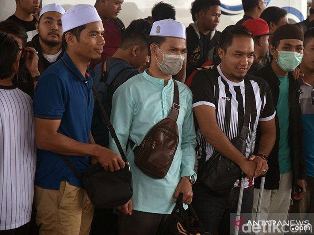 46 Mahasiswa Malaysia di Riau Dipulangkan karena Kabut Asap