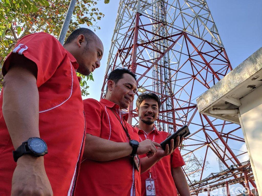Demi Merdeka Sinyal, Telkomsel Operasikan 14.990 BTS di Pelosok