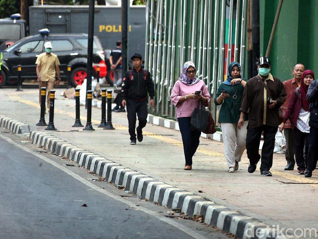 Jeda Jam Kerja di Jakarta Dipanjangkan demi Kurangi Kepadatan