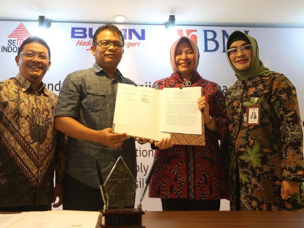 BNI Kelola Keuangan Semen Indonesia