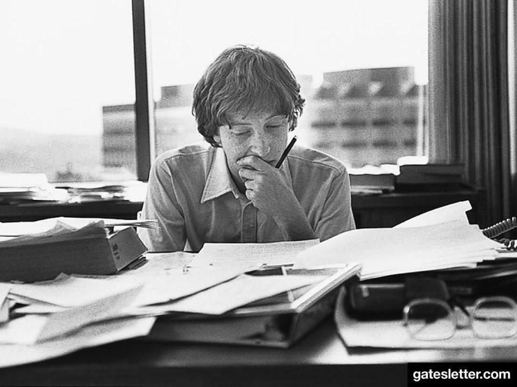 Bukan Bikin Microsoft, Ini Cita-cita Sederhana Bill Gates