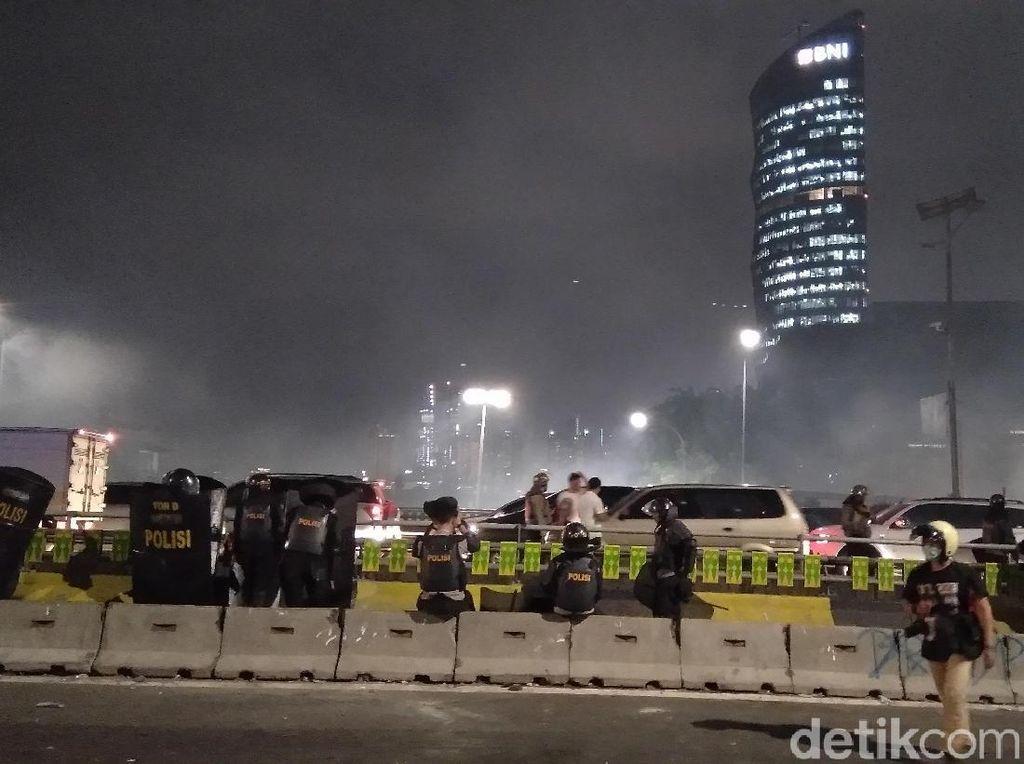 Ricuh di Slipi, Satu Orang Diamankan Polisi