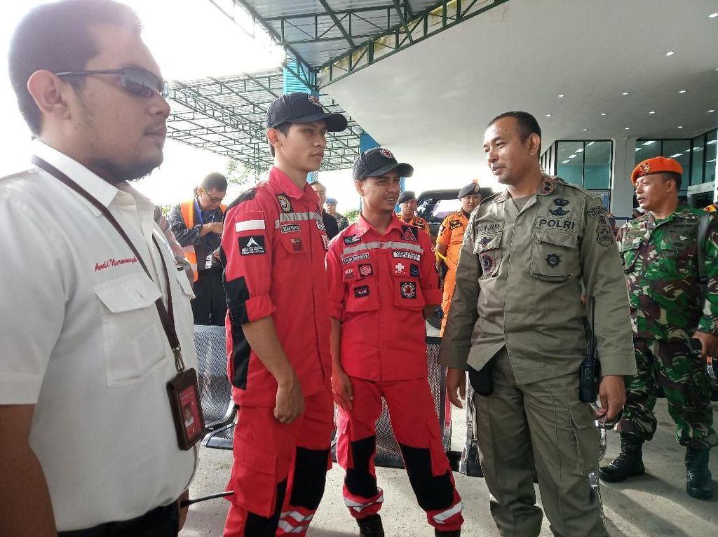 Tim Vertical Rescue Bantu Evakuasi Pesawat Jatuh di Papua
