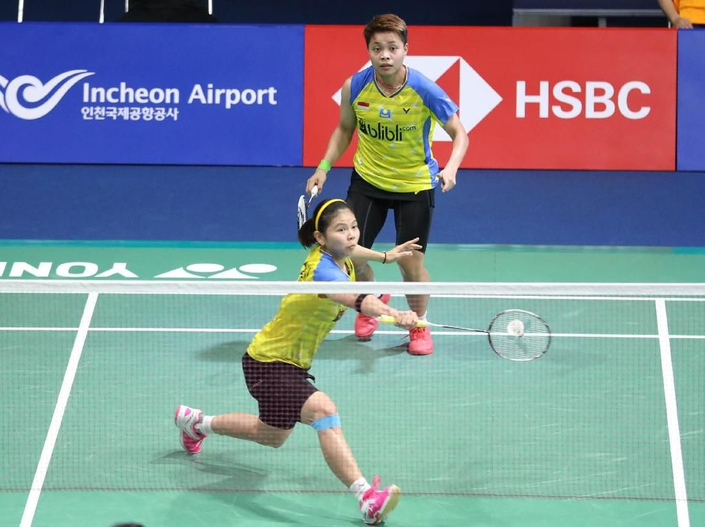 Greysia/Apriyani dan Fitriani Lanjut ke Babak Kedua Korea Open