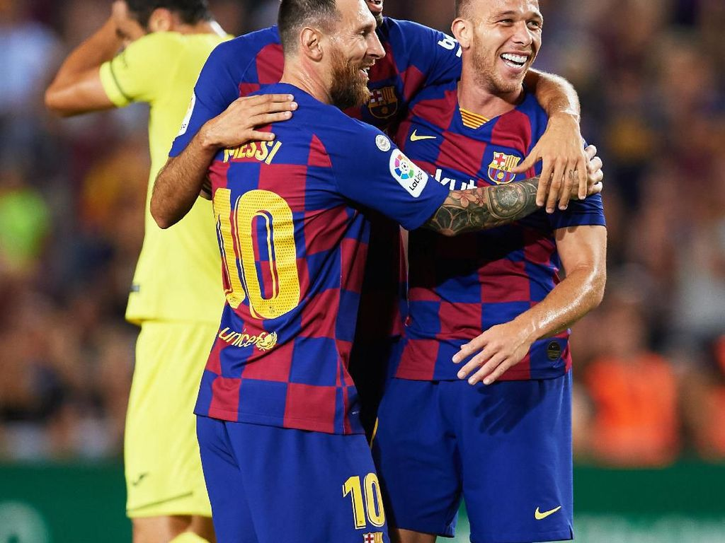 Langka! Arthur Kini Setim Messi, Nanti sama Cristiano Ronaldo