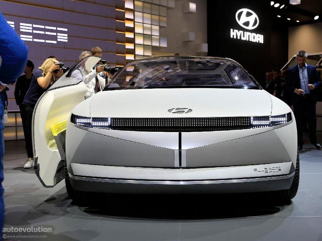 Hyundai Mulai Uji Mobil Tanpa Sopir