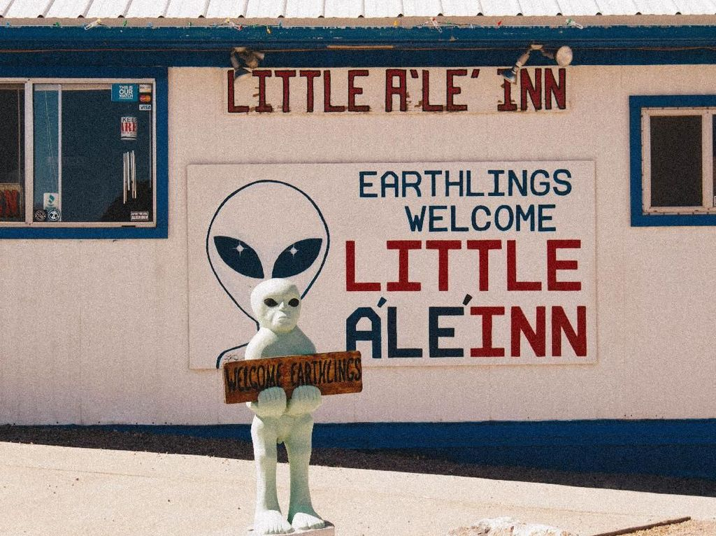 Little ALeInn Tempat Makan di Markas Alien yang Ada di Dekat Area 51