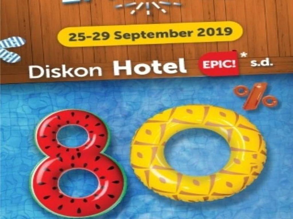Kenali Tips Epic Ini Saat Berburu Promo di Traveloka Epic Fair