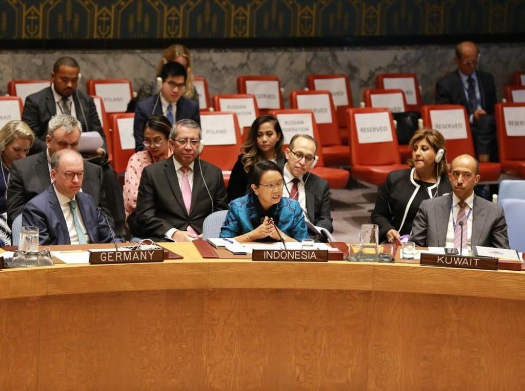 Di PBB, Menlu Retno Paparkan Saran Perkuat Kerja Sama Kontraterorisme