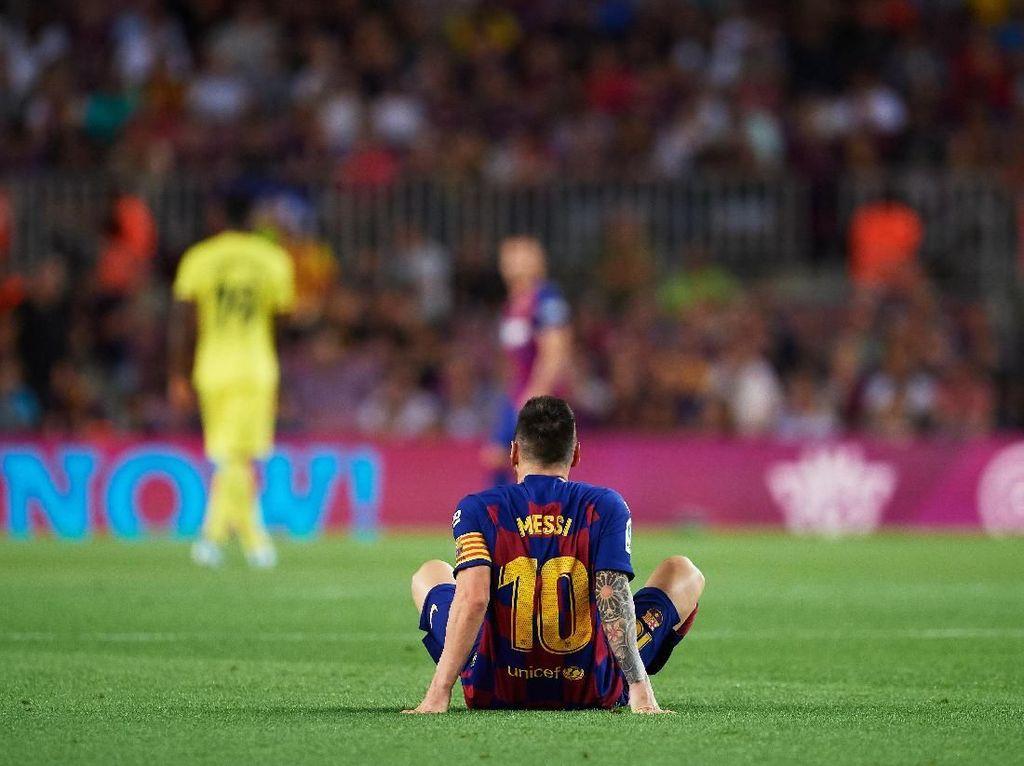 Barcelona Vs Inter, Etoo: Semoga Messi Tidak Main