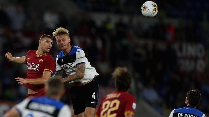 AS Roma dikalahkan Atalanta 0-2 di lanjutan Liga Italia (Foto: Paolo Bruno/Getty Images)