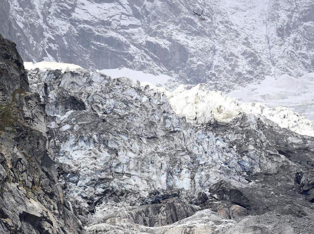 Gletser Mont Blanc Berisiko Runtuh, Warga Dusun Alpine Italia Dievakuasi
