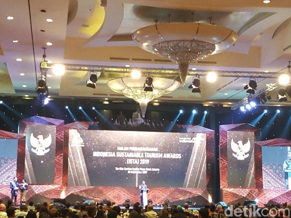 ISTAfest, Penghargaan Pariwisata Berkelanjutan Kelas Dunia