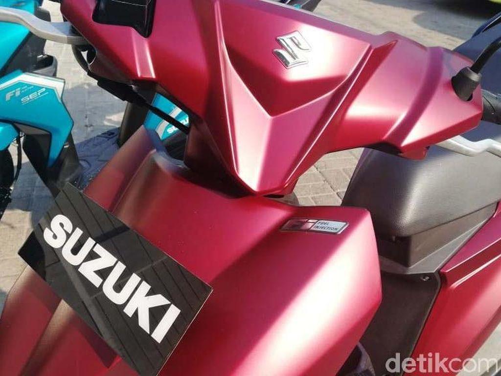Skutik Suzuki Tampil Segar dengan Warna Baru
