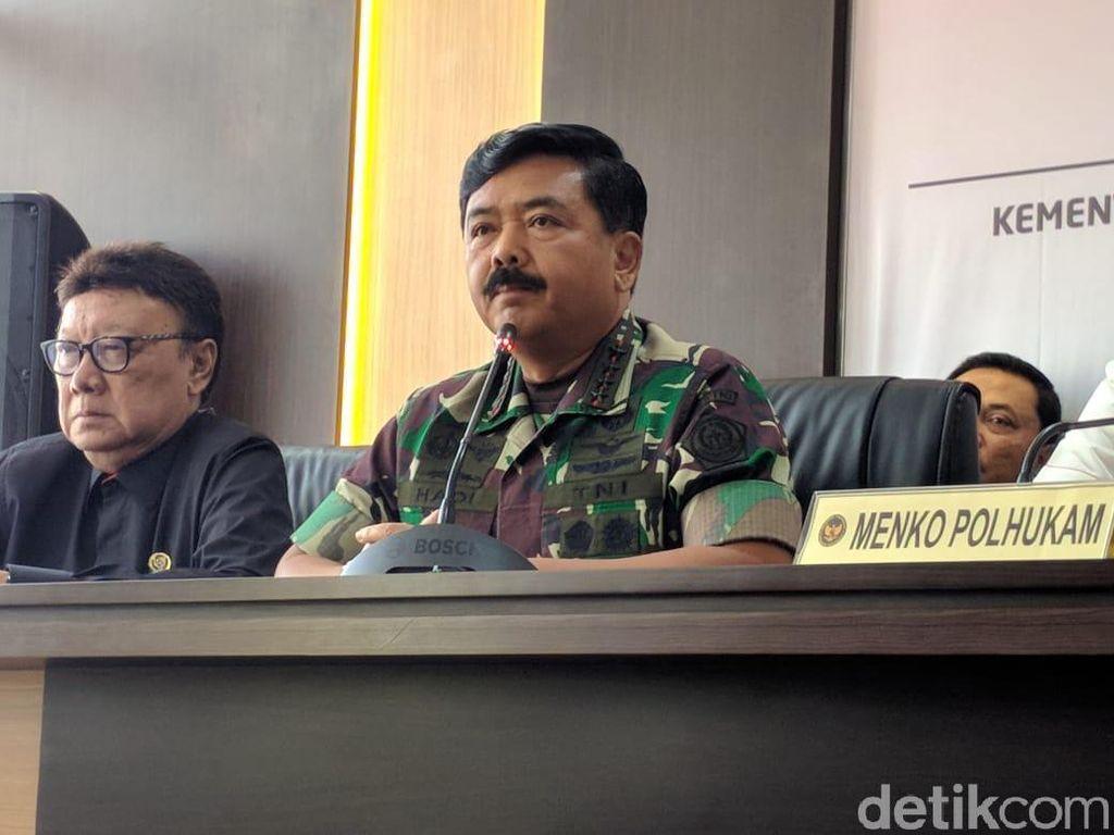 Panglima Ungkap Kasus Corona di Lingkungan TNI: 55 Orang Positif, 15 Meninggal