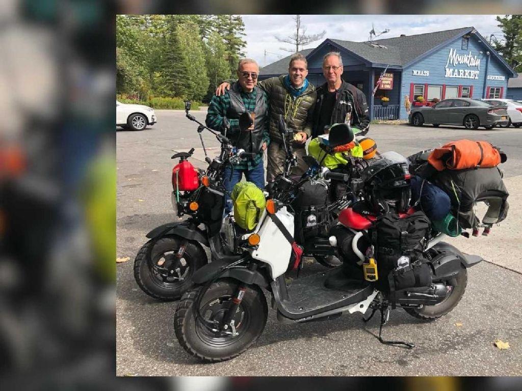 Pakai Mesin 50cc, Motor Ini Bisa Dipakai Touring Antar Negara?