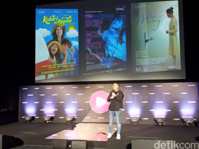 Peluncuran GoPlay. Foto: Aisyah Kamaliah
