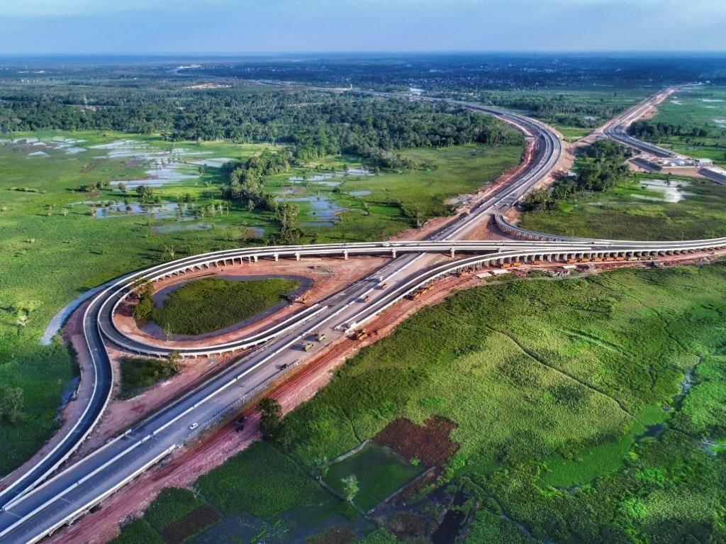 Panjangnya 185 Km, Ruas Tol Trans Sumatera Ini Kelar dalam 2 Tahun