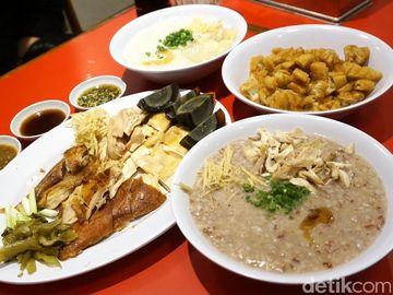 Ada Bubur Merah Oriental dan Ayam Kampung Gurih di Restoran Kekinian Ini