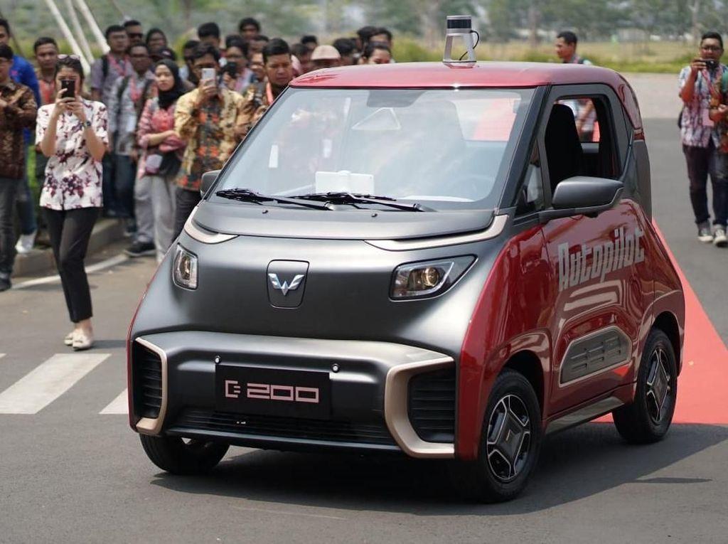 Mobil Hantu Wuling, Bisa Jalan Sendiri