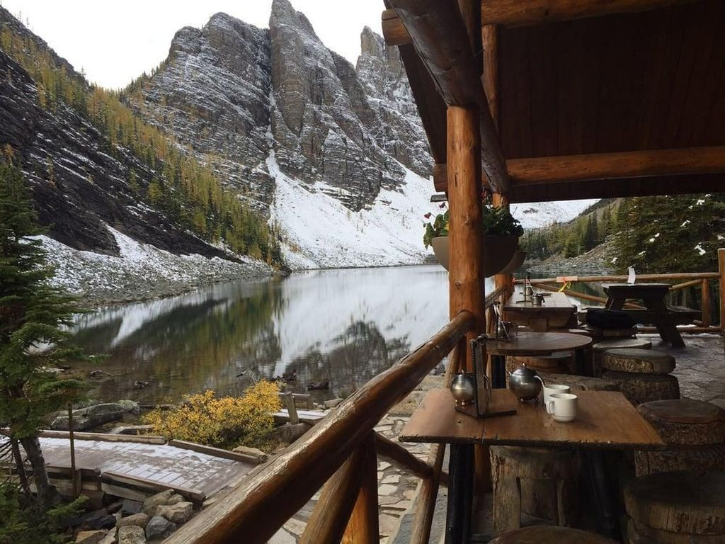 Di Kafe Tertua di Kanada Ini Bisa Ngeteh dengan Pemandangan Alam yang Indah