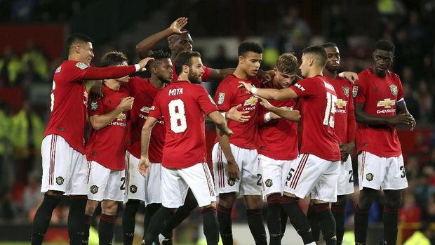 Manchester United terus terpuruk musim ini. (