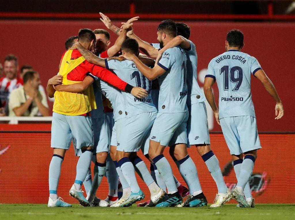 Hasil Liga Spanyol: Morata Kartu Merah, Atletico Kalahkan Mallorca 2-0