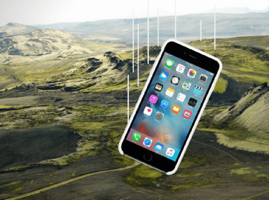 Jatuh dari Pesawat Lalu Hilang Setahun, iPhone 6S Masih Hidup