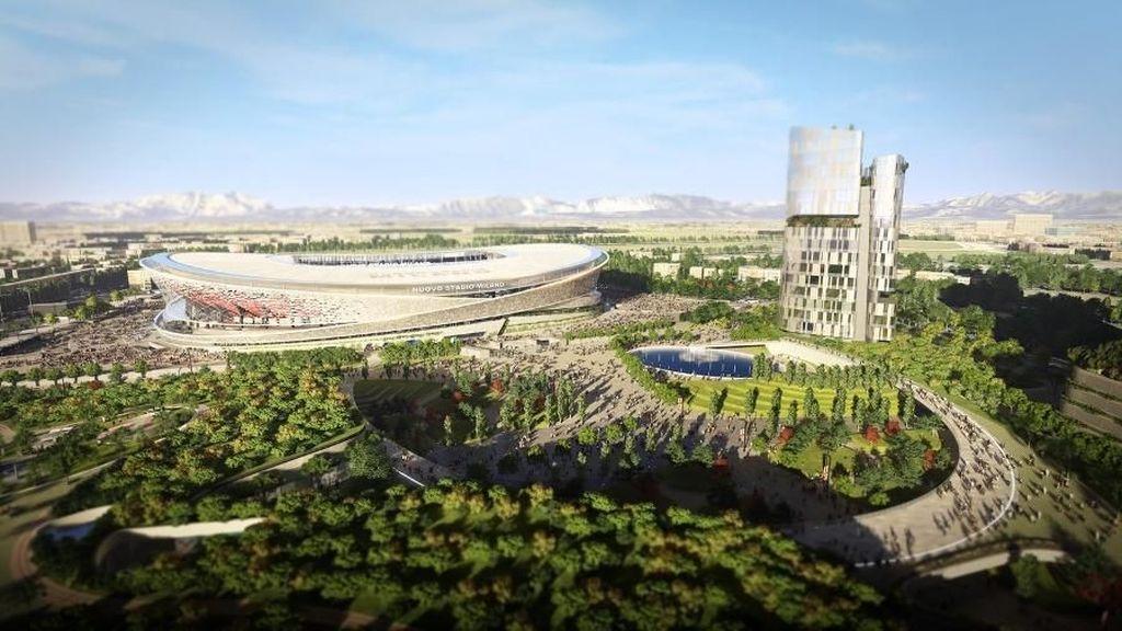 Ini Foto-foto Dua Desain Stadion Baru Inter dan Milan