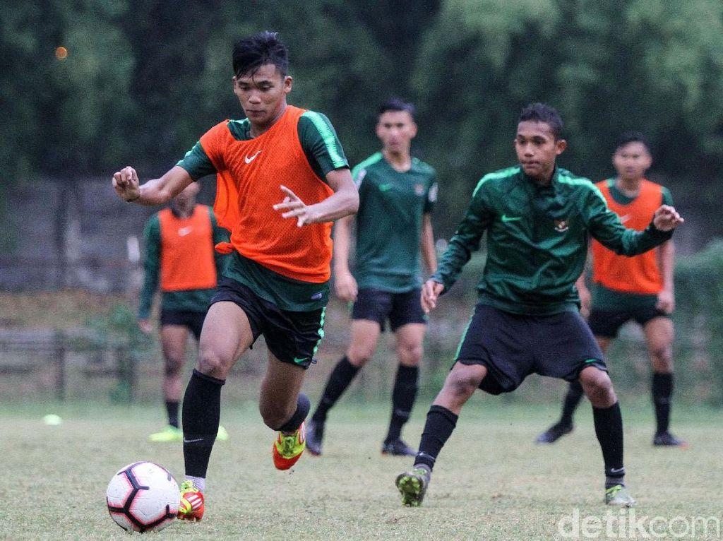 Timnas U-19 Gelar Latihan di Stadion Pajajaran