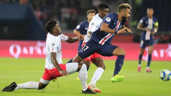 PSG kalah 0-2 dari Reims di pekan ketujuh Liga Prancis 2019/2020. (Foto: Michel Euler/AP Photo)