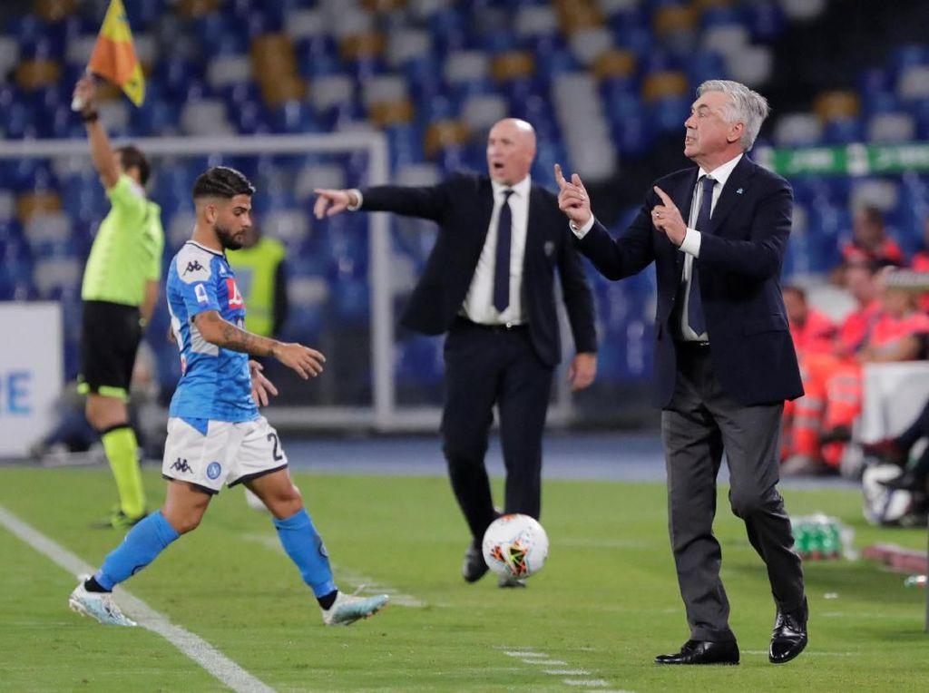 Napoli Dikritik Usai Kalah, Ancelotti pun Berang