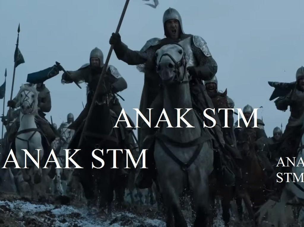 Meme Aksi Mahasiswa dan STM Ala Game of Thrones