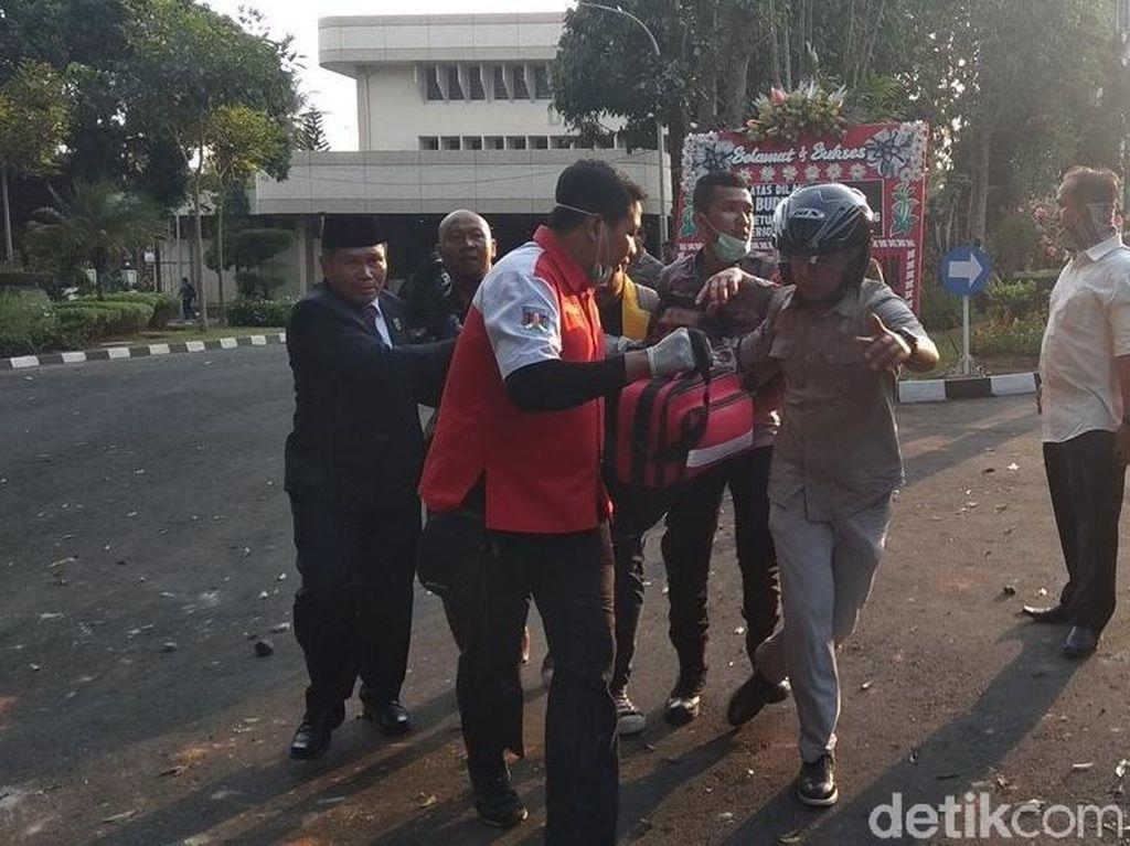 Pegawai Dishub Pemkot Magelang Terluka Saat Amankan Demo
