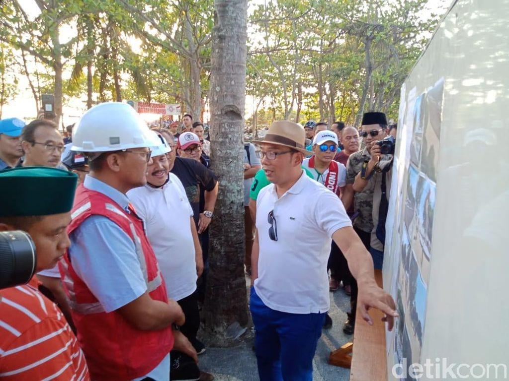 Ridwan Kamil: Wajah Baru Pantai Pangandaran Kado Tahun Baru 2020