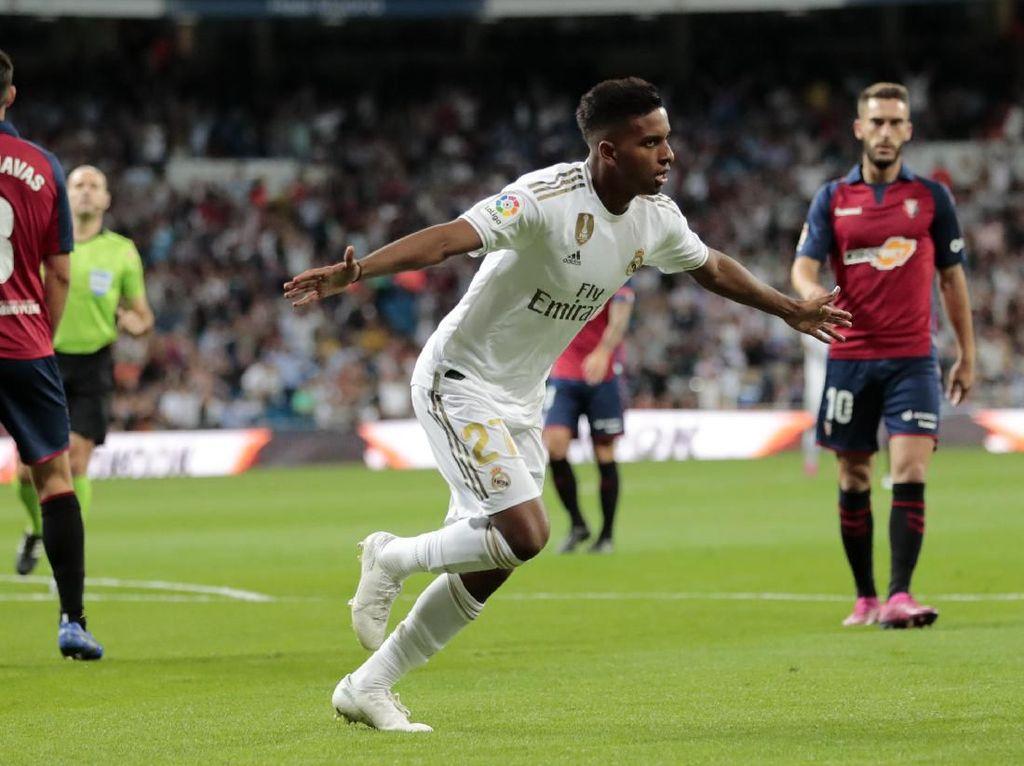 Hasil Liga Spanyol: Tekuk Osasuna 2-0, Real Madrid Puncaki Klasemen